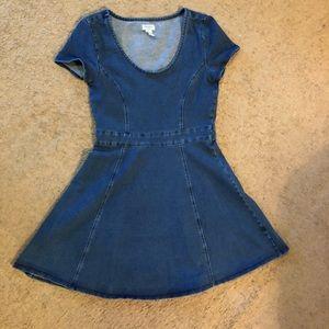 Forever 21 jean dress